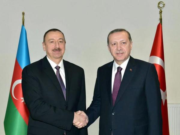 Rəcəb Tayyib Ərdoğan Prezident İlham Əliyevi təbrik edib