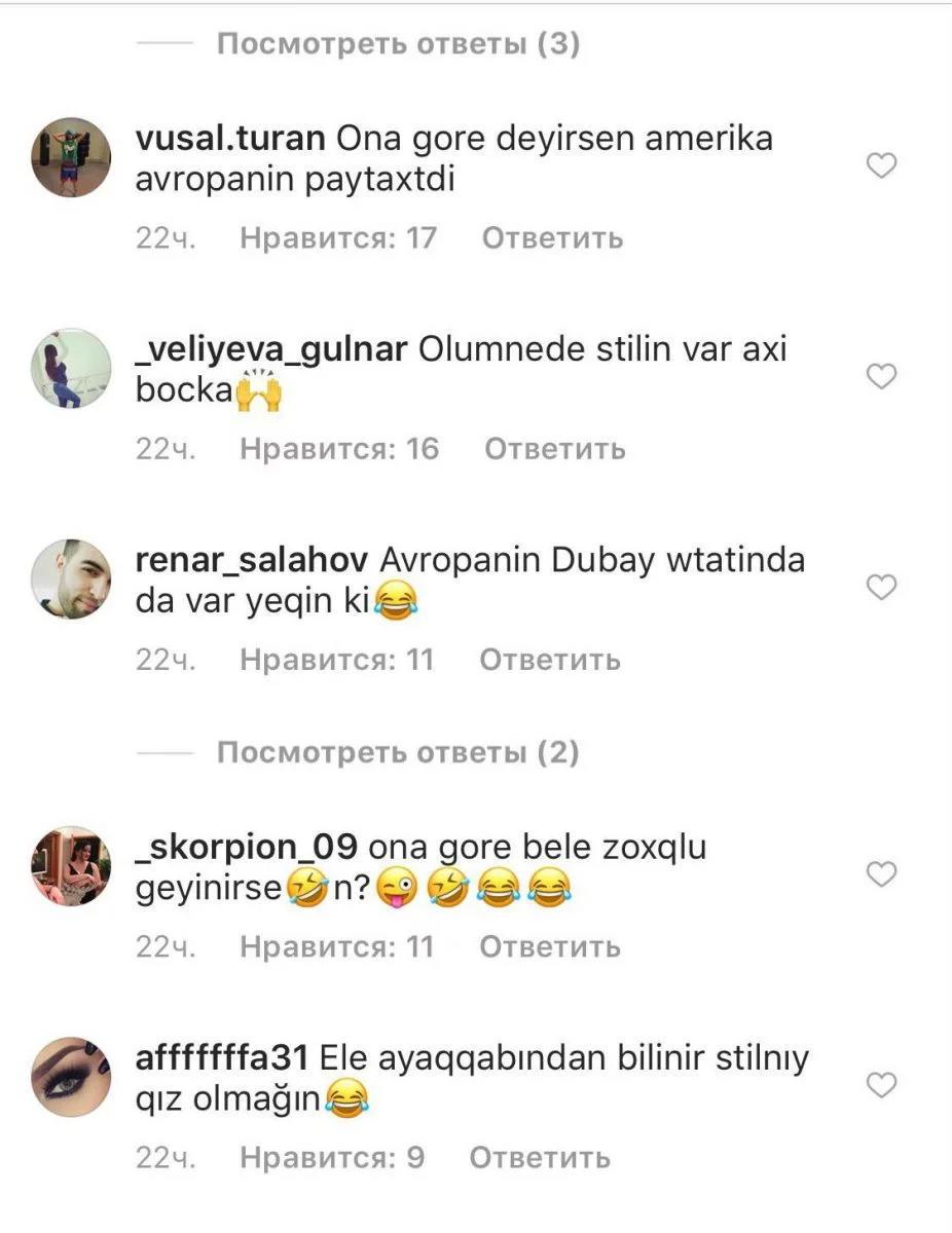 Şəbnəm Tovuzlu yenə gülüş obyekti oldu - FOTO