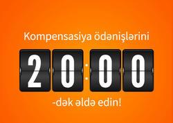 Unibank filiallarının xidmət vaxtı uzadıldı: müştərilər kompensasiyalarını saat 20.00-dək ala biləcəklər