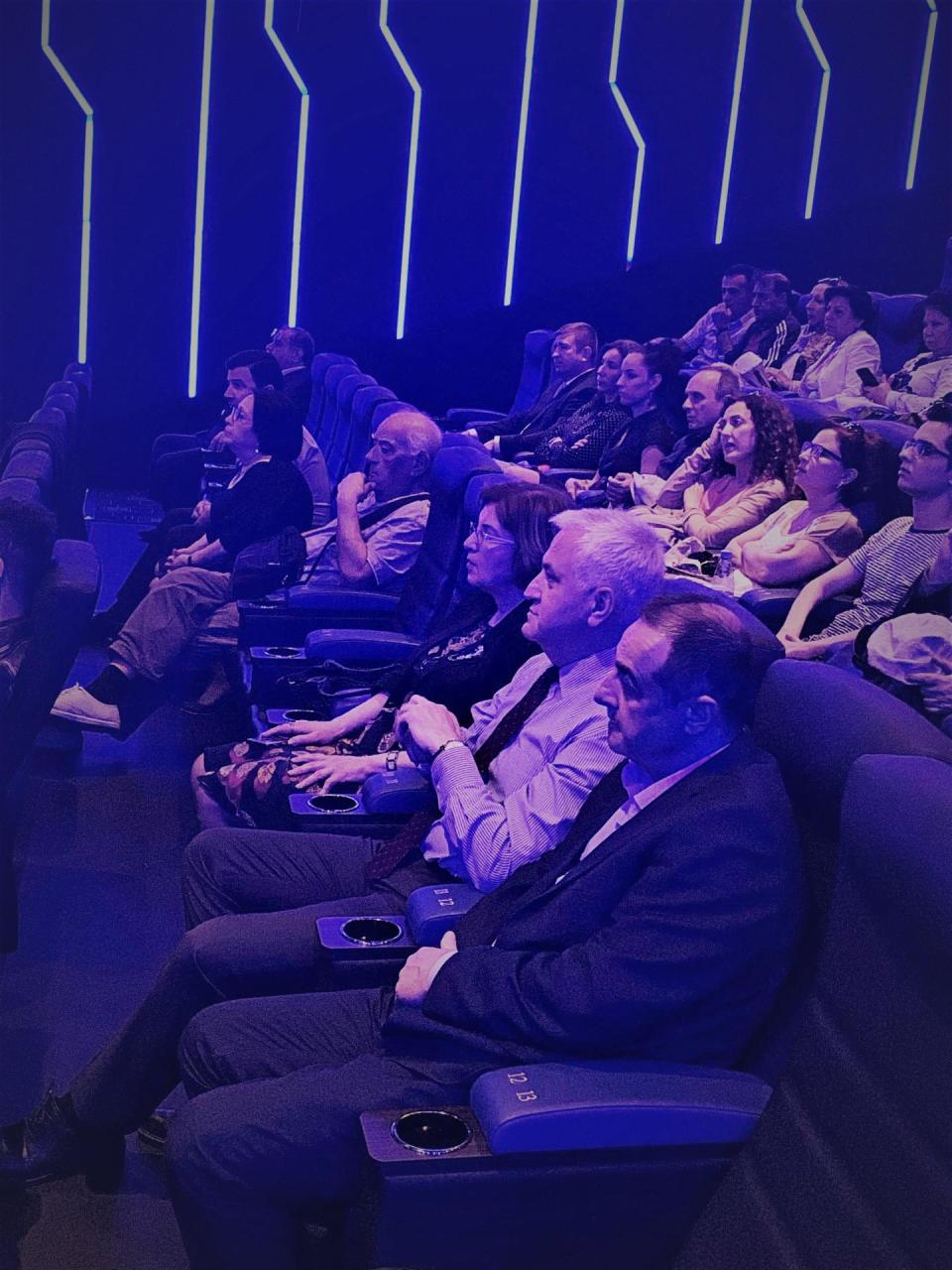 """""""CinemaPlus"""" da Kinematoqrafçılar İttifaqı və Litva səfirliyi tərəfindən tədbir təşkil olunub"""