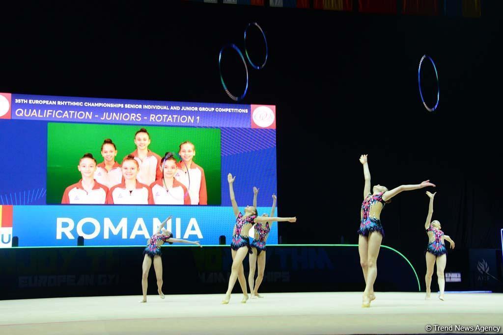 Bakıda bədii gimnastika üzrə 35-ci Avropa çempionatı start götürdü