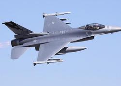 """Kaliforniyada """"F-16"""" qırıcı təyyarəsi qəzaya uğrayıb"""