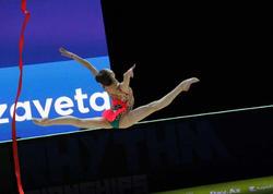 Bədii gimnastika üzrə 35-ci Avropa Çempionatının üçüncü günündən maraqlı anlar - FOTO