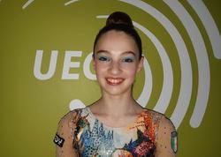 İtaliyalı gimnast: Azərbaycan komandasının çıxışı xoşuma gəldi