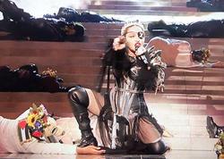 """""""Eurovision""""da növbəti Fələstin mesajı - <span class=""""color_red"""">Bu dəfə Madonna -VİDEO </span>"""