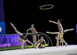 Bakıda bədii gimnastika üzrə 35-ci Avropa çempionatının finalı keçirilir - FOTO