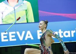 Bədii gimnastika üzrə 35-ci Avropa Çempionatının final yarışlarından maraqlı anlar - FOTO