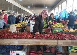 """Bazarda günbəgün ucuzlaşma: Faraş kartof-soğan su qiymətinə, meyvələr isə...- <span class=""""color_red"""">REPORTAJ - FOTO</span>"""