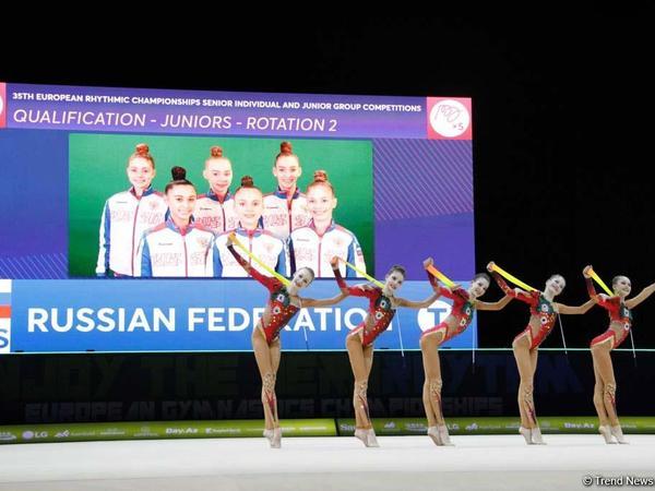 Rusiyalı gimnastlar Bakıda qızıl medal qazandılar