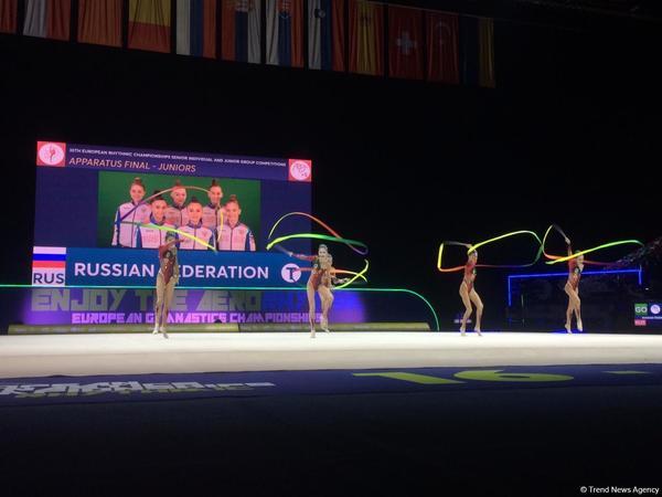 Rusiyalı gimnastlar Avropa çempionatında ikinci qızıl medalı qazandılar