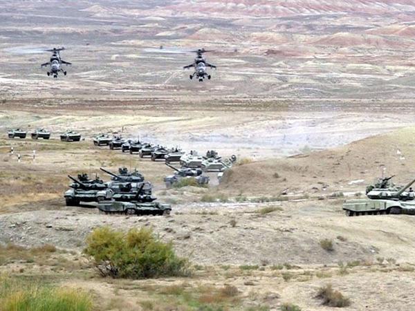 Azərbaycan Ordusunun genişmiqyaslı təlimləri başlayıb