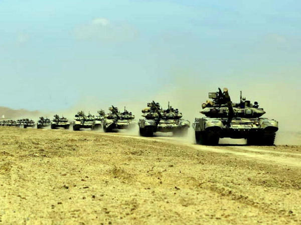 Azərbaycan Ordusunun genişmiqyaslı təlimləri başlayıb - VİDEO - FOTO