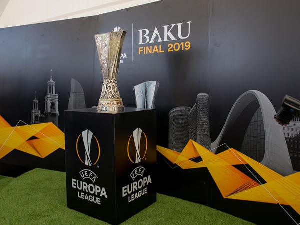 UEFA Avropa Liqasının əfsanəvi kuboku Gəncəyə gəldi
