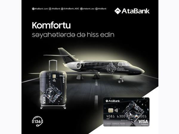 AtaBank-ın Visa Signature kartı premium imkanlar sərgiləyir