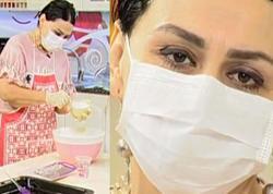 """Toppuş"" tibbi maskada aparıcılığa başladı - VİDEO"