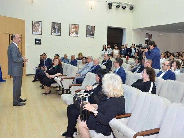 Dövlət Uşaq Filarmoniyası binasının əsaslı təmir və yenidənqurmadan sonra açılışı olub - FOTO