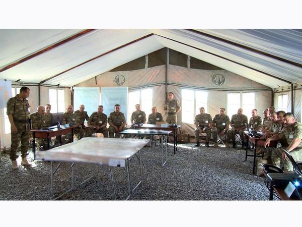 Ordumuzun genişmiqyaslı əməliyyat-taktiki təlimləri davam edir