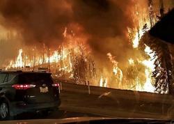 Kanadada baş verən meşə yanğınına ən yüksək çətinlik kateqoriyası verilib
