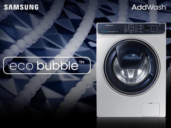 Samsung AddWash paltaryuyan maşınları ilə ideal təmizlik
