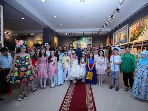 """Kids Fashion Design"" dəb nümayişi keçirildi - <span class=""color_red"">FOTO</span>"