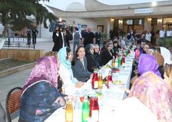 Birinci vitse-prezident Mehriban Əliyeva iftar mərasimində iştirak edib  - FOTO