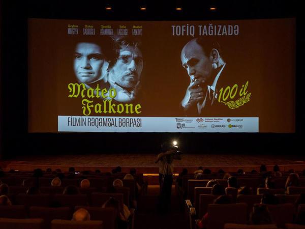 """Balans Studiyası Tofiq Tağızadənin 100 illiyinə """"Mateo Falkone"""" filmini bərpa etdi"""
