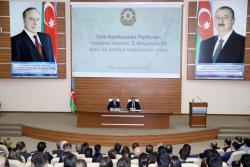 YAP-a yeni qəbul edilənlərə üzvlük vəsiqələri təqdim olunub -  FOTO