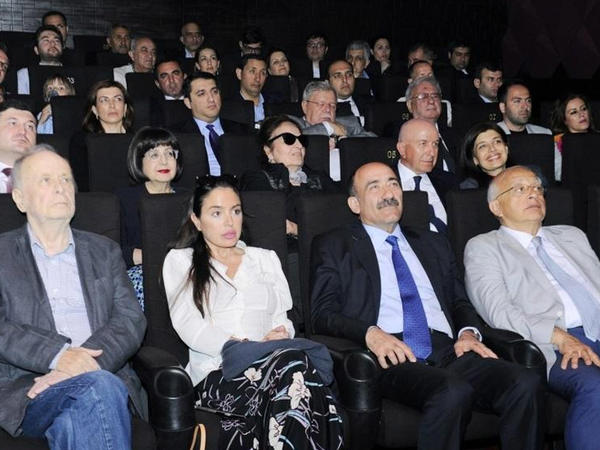 """Heydər Əliyev Fondunun vitse-prezidenti Leyla Əliyeva """"Mənim balaca şahzadəm"""" cizgi filminin təqdimatında iştirak edib - FOTO"""