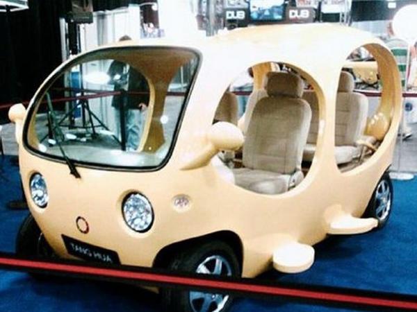 Ötən əsrin ən mənasız avtomobil dizaynları - FOTO
