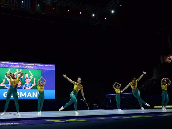Bakıda aerobika gimnastikası üzrə 11-ci Avropa çempionatı start götürüb - FOTO