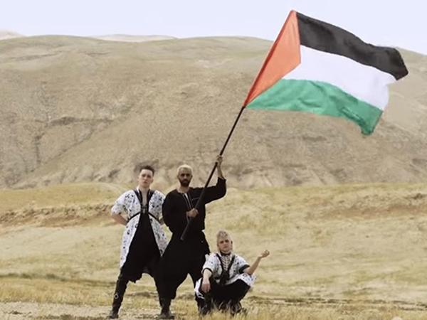 """Qalmaqallı rokçulardan İsraili qəzəbləndirəcək <span class=""""color_red"""">daha bir addım</span>"""