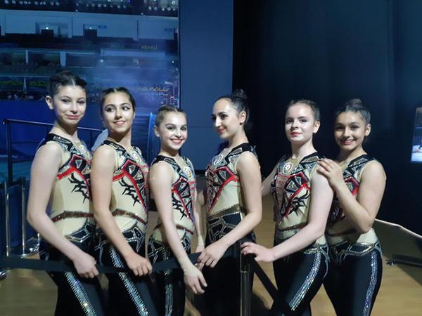"""Aerobika gimnastikası üzrə Azərbaycan komandası: <span class=""""color_red"""">Hər şey yaxşı keçdi</span>"""