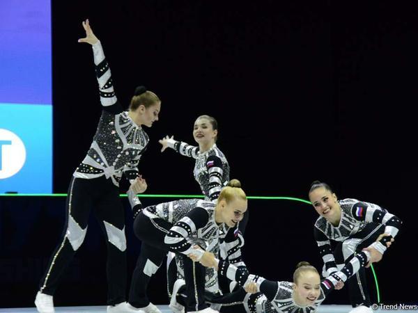 Bakıda aerobika gimnastikası üzrə Avropa çempionatı davam edir - FOTOREPORTAJ