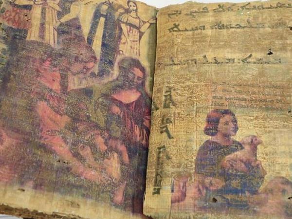 Türkiyədə 1400 illik tarixi olduğu təxmin edilən kitab ələ keçirilib - FOTO