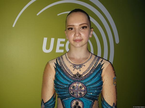 """Ukraynalı gimnast: """"Bakıda Avropa çempionatının iştirakçıları üçün zəruri şərait yaradılıb"""""""