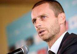 UEFA prezidentindən Bakıdakı finala dəstək