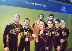 Aerobika gimnastikası üzrə Avropa çempionatında aero-dans proqramında Azərbaycan komandası finala çıxıb