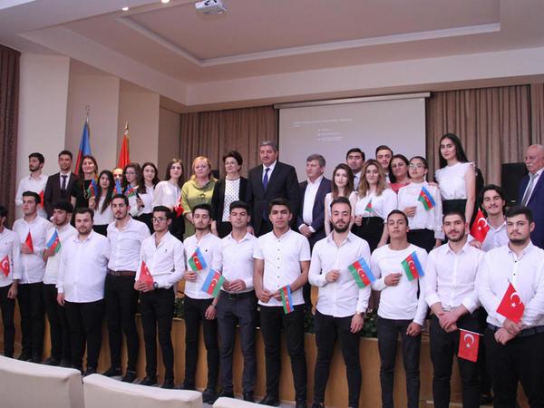 AzMİU-da Respublika Günü və Atatürkü anma bayramı münasibətilə tədbir keçirilib - FOTO