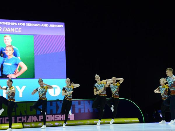 Bakıda aerobika gimnastikası üzrə 11-ci Avropa çempionatının ikinci günü başlayıb - FOTO