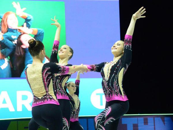 Bakıda aerobika gimnastikası üzrə 11-ci Avropa çempionatının ikinci günü davam edir - FOTO