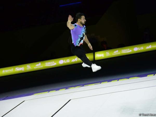 Aerobika gimnastikası üzrə Avropa Çempionatında kişilər arasında fərdi proqramda finalçılar məlum oldu