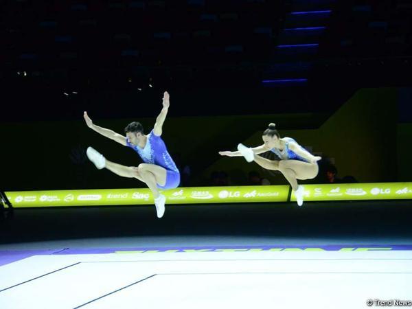 Aerobika gimnastikası üzrə Avropa Çempionatında qarışıq cütlüklər arasında finalçılar məlum olub