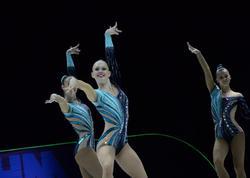 """Bakıda aerobika gimnastikası üzrə 11-ci Avropa çempionatının final mərhələsi yarışları davam edir - <span class=""""color_red"""">FOTO</span>"""