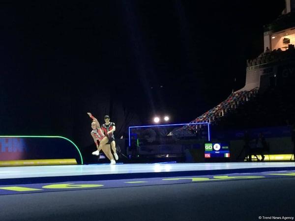Aerobika gimnastikası üzrə Avropa Çempionatında gənclər arasında qarışıq cütlük proqramının qalibləri müəyyənləşib