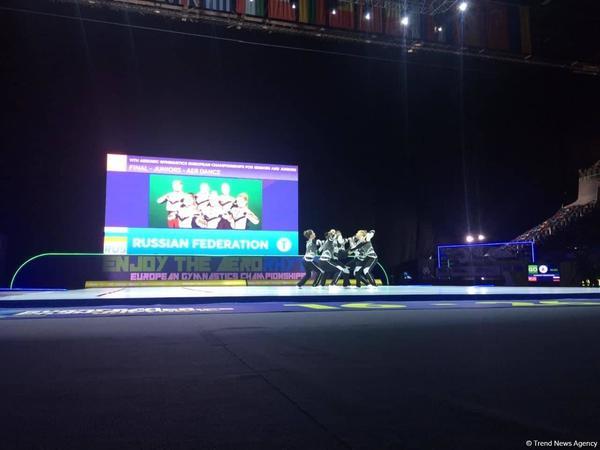 Avropa çempionatında gənclər arasında aero dans proqramında qaliblər məlum oldu