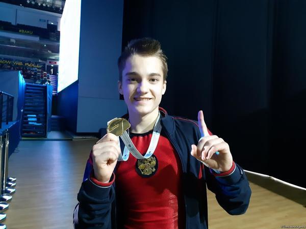 """Anton Kolobov: """"Qızıl medal qazanmağıma görə çox xoşbəxtəm"""""""