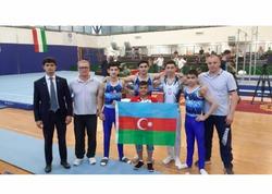 Gimnastlarımız Budapeştdə 6 medal qazanıb