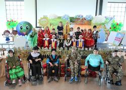 Paralimpiyaçı uşaqlar bayram tədbiri keçiriblər - FOTO