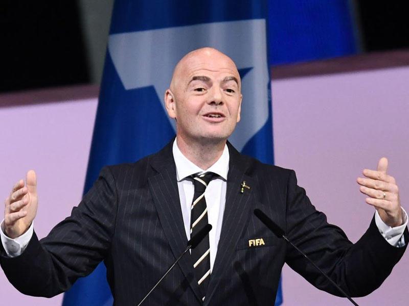 İnfantino yenidən FIFA prezidenti seçildi