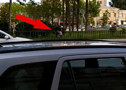 """Bakının mərkəzində BİABIRÇILIQ - <span class=""""color_red"""">Oğlan qızı parkda... - VİDEO</span>"""